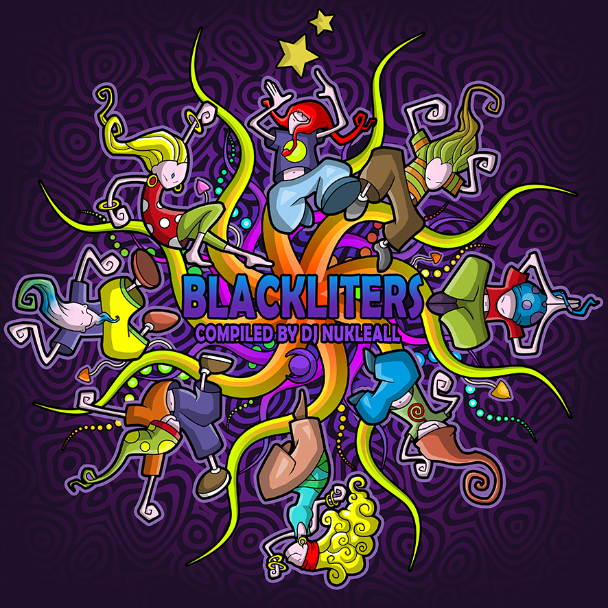 Blackliters Artwork - Blacklite Records (Italy)